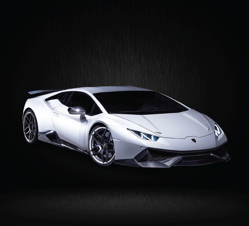 Rent a Lamborghini Huracan  in Vancouver